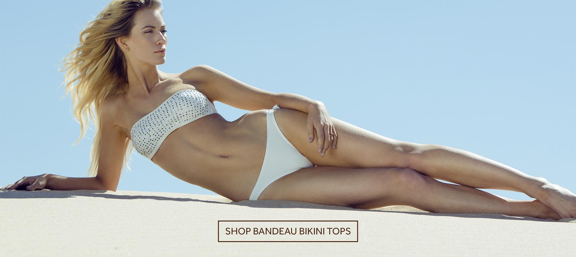 Triangle Bikini top Ocean Flowers & Ibiza low tanga bikini bottom Ocean Flowers