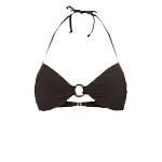 Bora Bora halter plunge bikini top